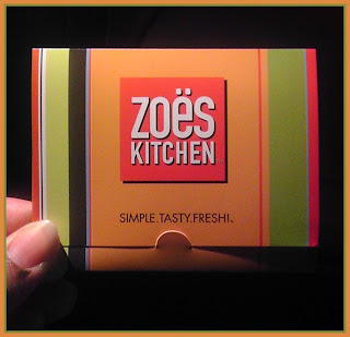 Living Simple Zoes Kitchen Gift Card Give Away Amp Review